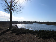 Stunning views of the Lockwood Folly River from the Winding River Plantation boat / kayak launch